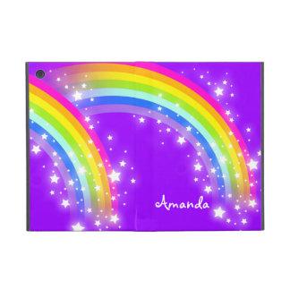 Girls name rainbow purple ipad air powis case iPad mini covers