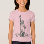 Girl's New York Tank Top Statue of Liberty Top