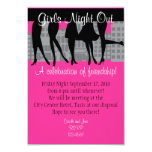 "Girls Night Out 3.5"" X 5"" Invitation Card"