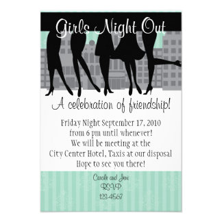 Girls Night Out Announcement