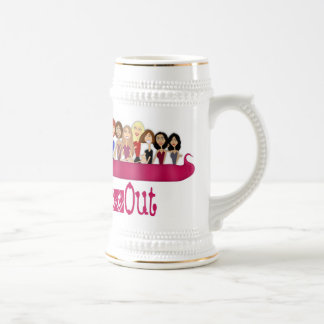 Girls Night Out Beer Stein