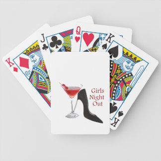 Girls Night Out Bicycle Playing Cards