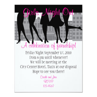 Girls Night Out Card