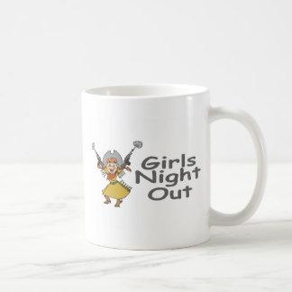 Girls Night Out Cowgirl Coffee Mug