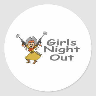 Girls Night Out (Cowgirl) Stickers