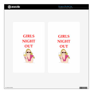 girls night out decals for kindle fire