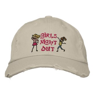 Girl's Night Out embroideredhat