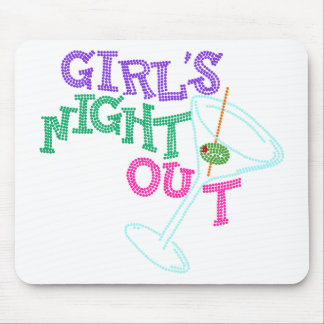 GIRLS NIGHT OUT GIFTS MOUSE PAD