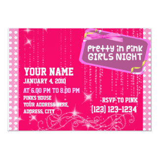 Girls Night Out: Invite