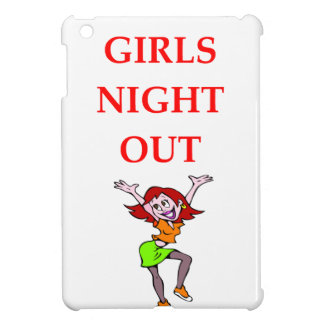 girls night out iPad mini cases