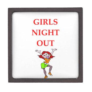 girls night out keepsake box