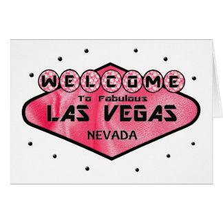 Girls Night Out Las Vegas Card