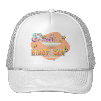 girls night out, last night out bachelorette party trucker hat