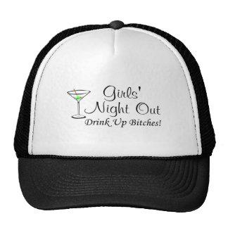 Girls Night Out Martini Trucker Hat