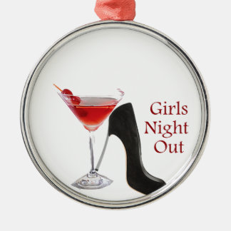 Girls Night Out Metal Ornament