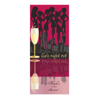 Girls Night Out Party Custom Announcements