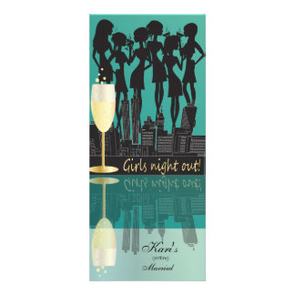 Girls Night Out Party Personalized Announcements