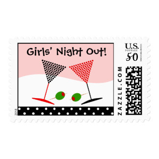 Girls Night Out Party Stamp