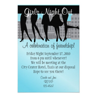 Girls Night Out Personalized Invite