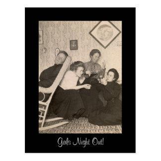 Girls-Night-Out Postcard! Postcard