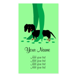 Girls' Night Out Shamrocks Double-Sided Standard Business Cards (Pack Of 100)