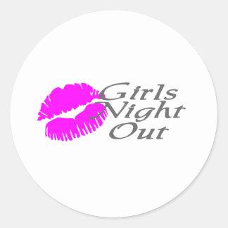 Girls Night Out Sticker