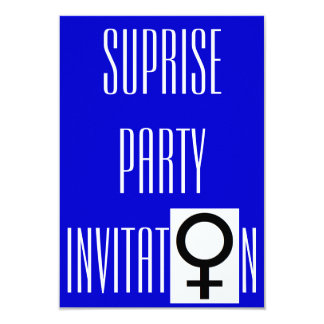 Girls Night Out Surprise Party Invitation 9 Cm X 13 Cm Invitation Card