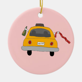 Girls Night Out Taxi Ornament