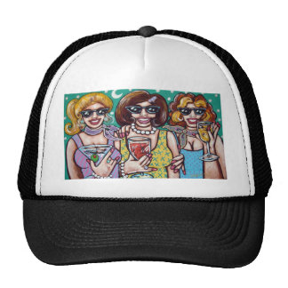girls night out trucker hat