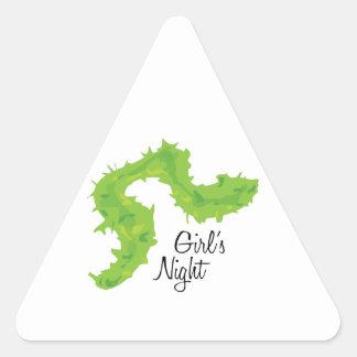 Girls Night Triangle Sticker