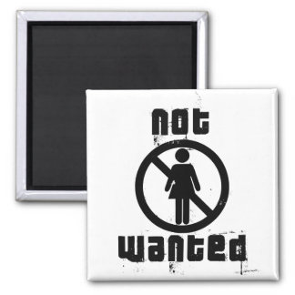 Girls not Wanted Magnet