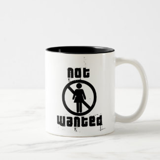 Girls not Wanted Mugs and Steins