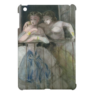 Girls on the Balcony, 1855-60 Cover For The iPad Mini