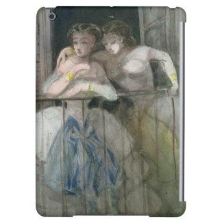 Girls on the Balcony, 1855-60 iPad Air Cover