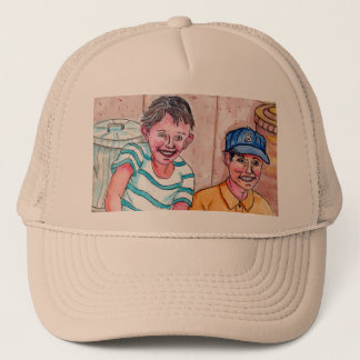 Girls On The Stoop Teasing These Boys - Hat