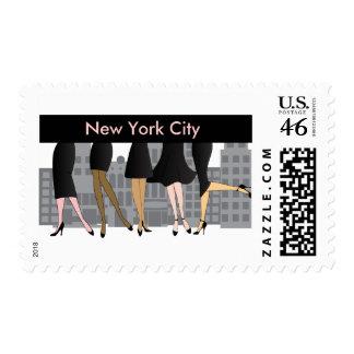 Girls Only-Version 3 Postage Stamp