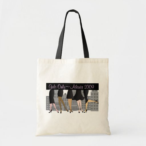 Girls Only-Version 3 Tote Bag