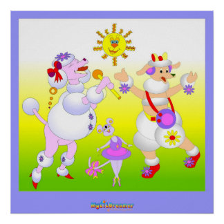 Girls Party Print