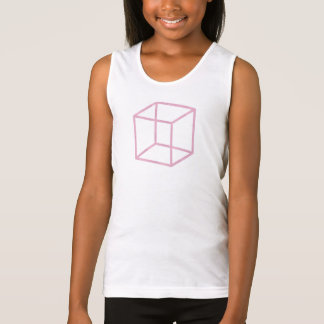 Girl's Pink Cube T-shirt