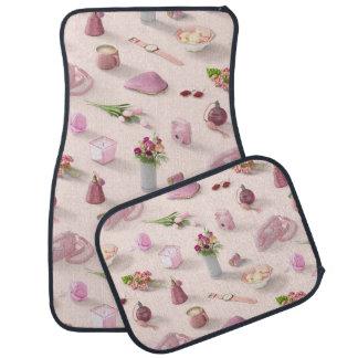 Girl's Pink Dream Car Floor Mat