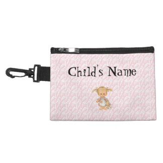 Girls Pink with girl change purse
