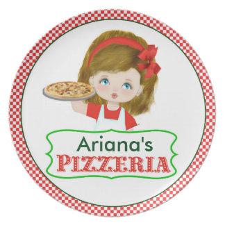 Girl's Pizzeria Plate