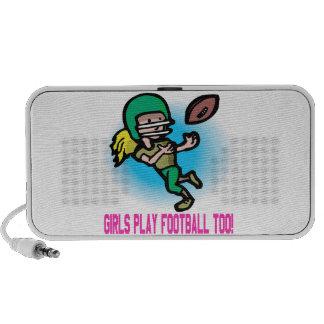 Girls Play Football Too Speaker System