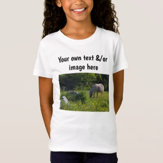 Girls' pony or own words, own image T-Shirt