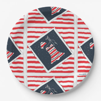 Girls' Pool Party Paper Plate