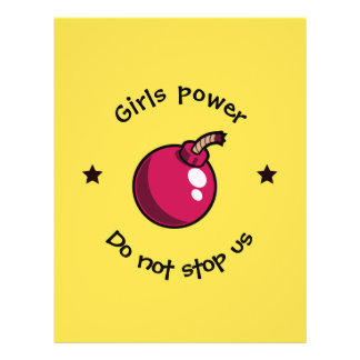 Girls power flyer