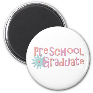 Girl's Preschool Graduation Gifts 2 Inch Round Magnet