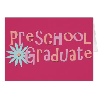 Girl's Preschool Graduation Gifts Card