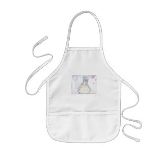 Girl's Pretty Party Dress Aprons