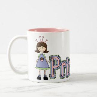Girls Princess Birthday Mug - Princess Cupcake